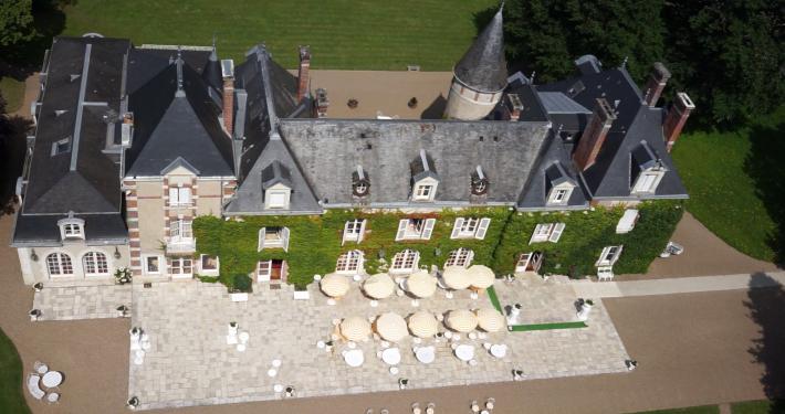 DroneContrast au domaine des hauts de Loire
