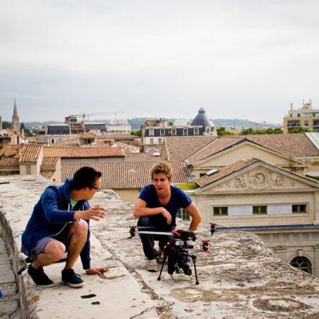 formation initiation au pilotage de drone