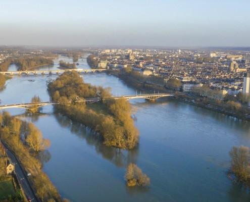 Vue sur Loire - Tours