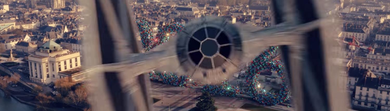 Prise de vue star wars