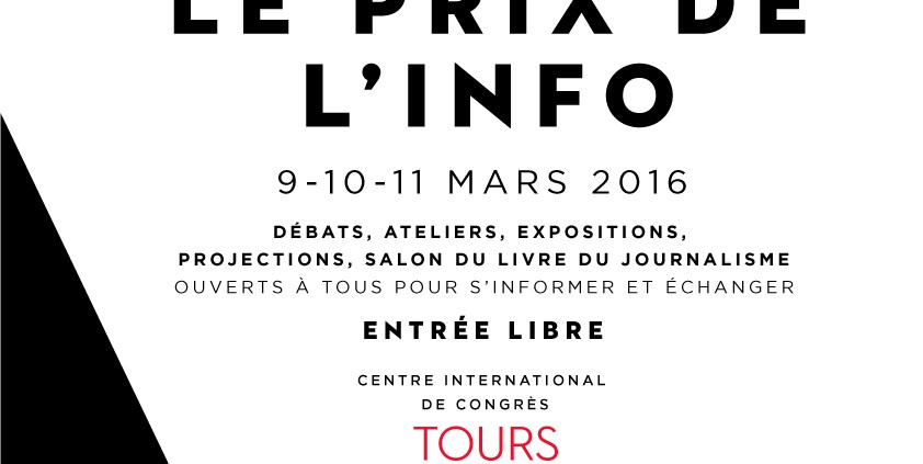 Assises du Journalisme 2016 à Tours